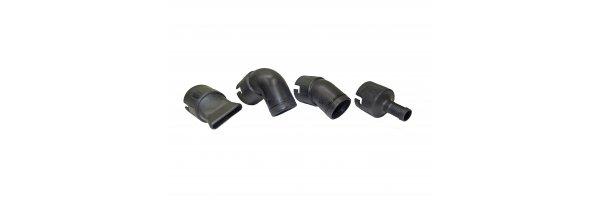 Adapter und Düsenset aus Kunststoff für die Modelle 500/40 KU.