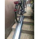 Variabel einstellbare Fahrradrampe, E-Bike  Treppenrampe...