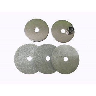 Viscose Profi ® Kolbendichtung komplett für Edelstahl Mörtelspritze Modell 500/60 NU