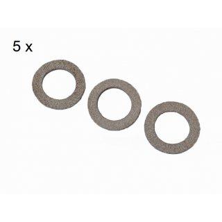 Viscose Profi ® 5er Pack Kolbendichtungen für Mod. 500/50 NU-K und NU-KD.